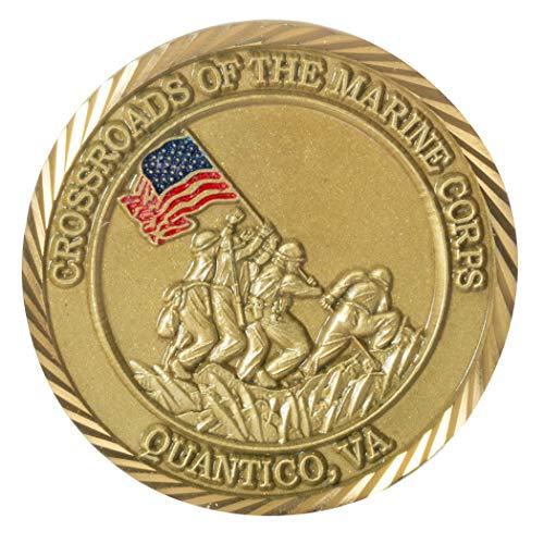 United States Marine Corps Base Quantico Challenge Coin ()