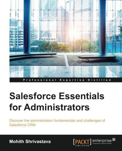 Salesforce Essentials for Administrators PDF