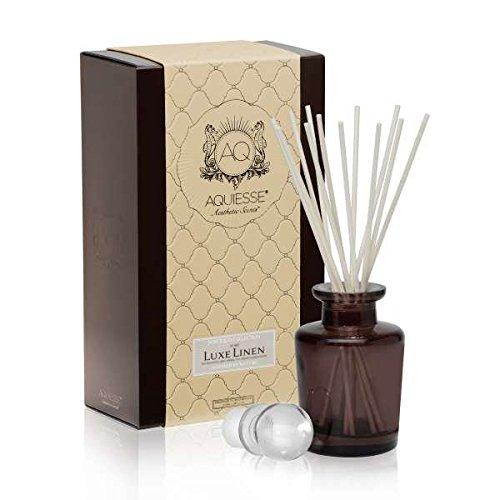 Aquiesse Luxe Linen Reed Diffuser Gift Set by Aquiesse