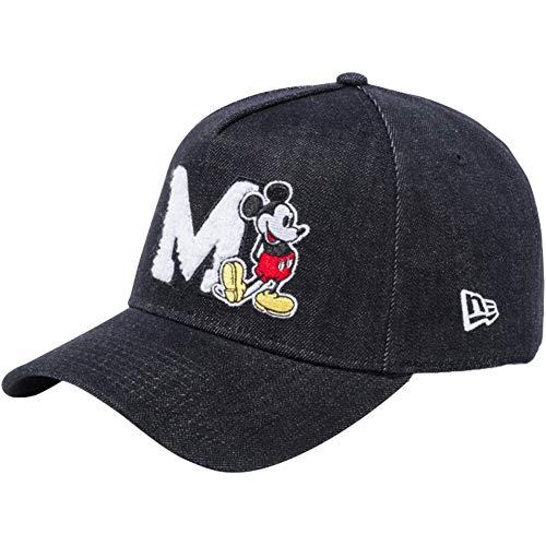 [ニューエラ]×ディズニー 940 スナップバック キャップ エーフレームトラッカー ミッキーマウス 11781478 ブラックデニム