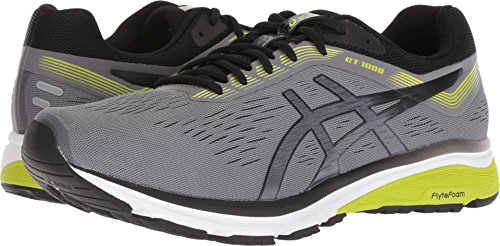 ASICS GT-1000 7 Shoe - Men's Running Carbon/Black by ASICS (Image #3)