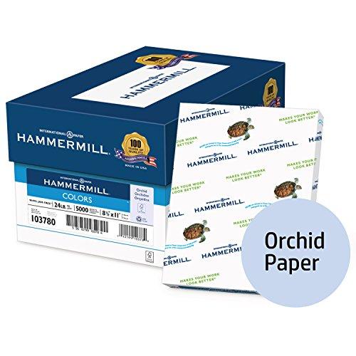 Hammermill, colores azul, 10.9kilogram., 8.5x 11, Carta, 500hojas/resma, (103671r), fabricado en EE. UU., Carta,...