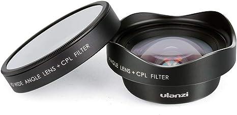 Docooler Ulanzi 16mm HD Lente para teléfono Gran Angular con Filtro de Lente de cámara CPL Universal para iPhone Samsung Huawei Smartphone: Amazon.es: Electrónica
