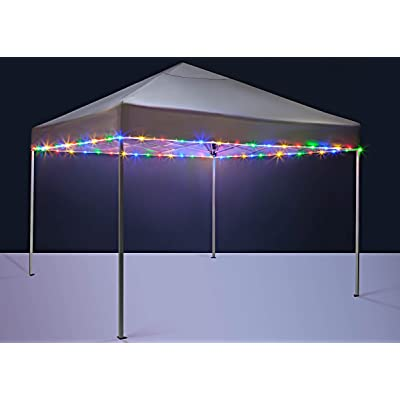 Brightz CanopyBrightz LED Tailgate Canopy and Patio Umbrella Accessory Lighting Kit (Lights Only), Multicolor : Garden & Outdoor