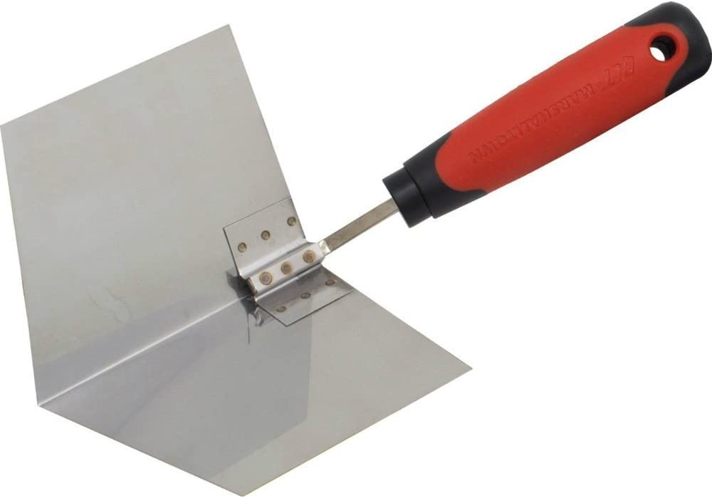 Marshalltown  5 in W Stainless Steel  Corner  Trowel