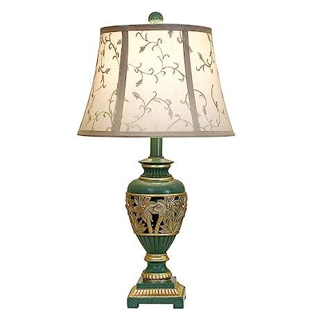 Lámparas de Escritorio Lámpara Europea Tabla Retro Dormitorio ...