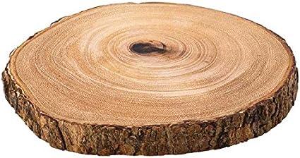 Set Di 3 Darwin Board In Legno Di Acacia 19 1 Cm 20 Cm A Forma Di Albero Base Da Tavolo Presentazione Amazon It Casa E Cucina