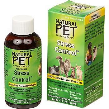 Anxiety & Stress for Cats KingBio Natural Pet 4 oz Liquid (Supplement Stress Liquid)