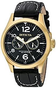 Invicta Men's 10491 Specialty Stainless Steel Watch with Leather Band
