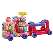 VTech Sit-to-Stand Ultimate Alphabet Train, Pink, 33.9  x 9.8  x 17.7