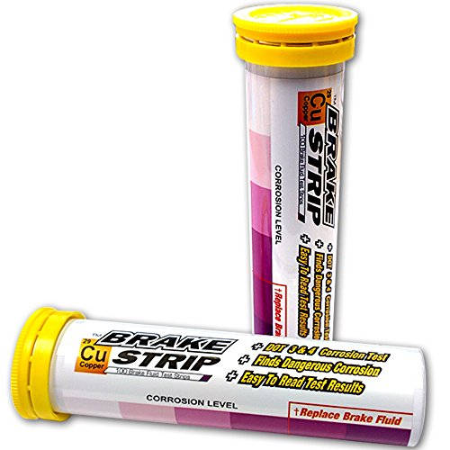 Phoenix Systems (3001-B Brake Fluid Test Strips, 100 Test Strips Per Tube, BrakeStrip, FASCAR, Copper by Phoenix Systems (Image #1)