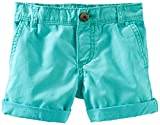 OshKosh B'gosh Woven Shorts (Toddler/Kid) - Turquoise-2T