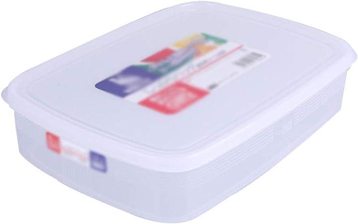 Lmz Caja de plástico Antiadherente congelada Caja de Bola de Masa Caja de Almacenamiento Caja de Bola de Masa Caja de Almacenamiento de Alimentos (Color : 2 pcs, Size : 24 * 18cm): Amazon.es: Hogar