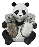 Ebros Master Po Giant Panda Bear Salt And Pepper Shakers Holder Figurine Spicy Bamboo Kung Fu Chef Master