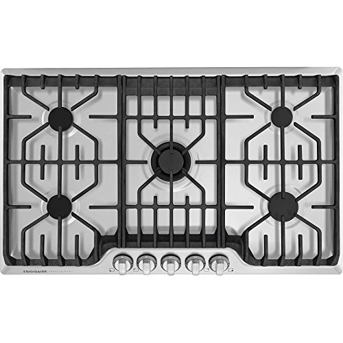 Precise Simmer Burner (Frigidaire Professional FPGC3677RS 36'' Gas Cooktop in Stainless Steel)