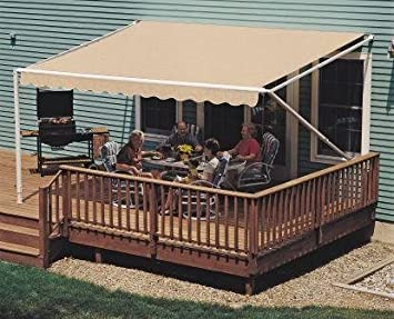 20FT SunSetter Sand 1000XT Retractable Awning