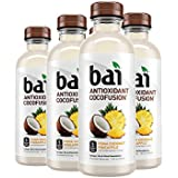 Bai Coconut Flavored Water, Puna Coconut Pineapple, Antioxidant Infused Drinks, 18 Fluid Ounce Bottles, 6 count