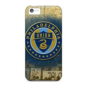 Premium Protection Philadelphia Union Case Cover For Iphone 5c- Retail Packaging