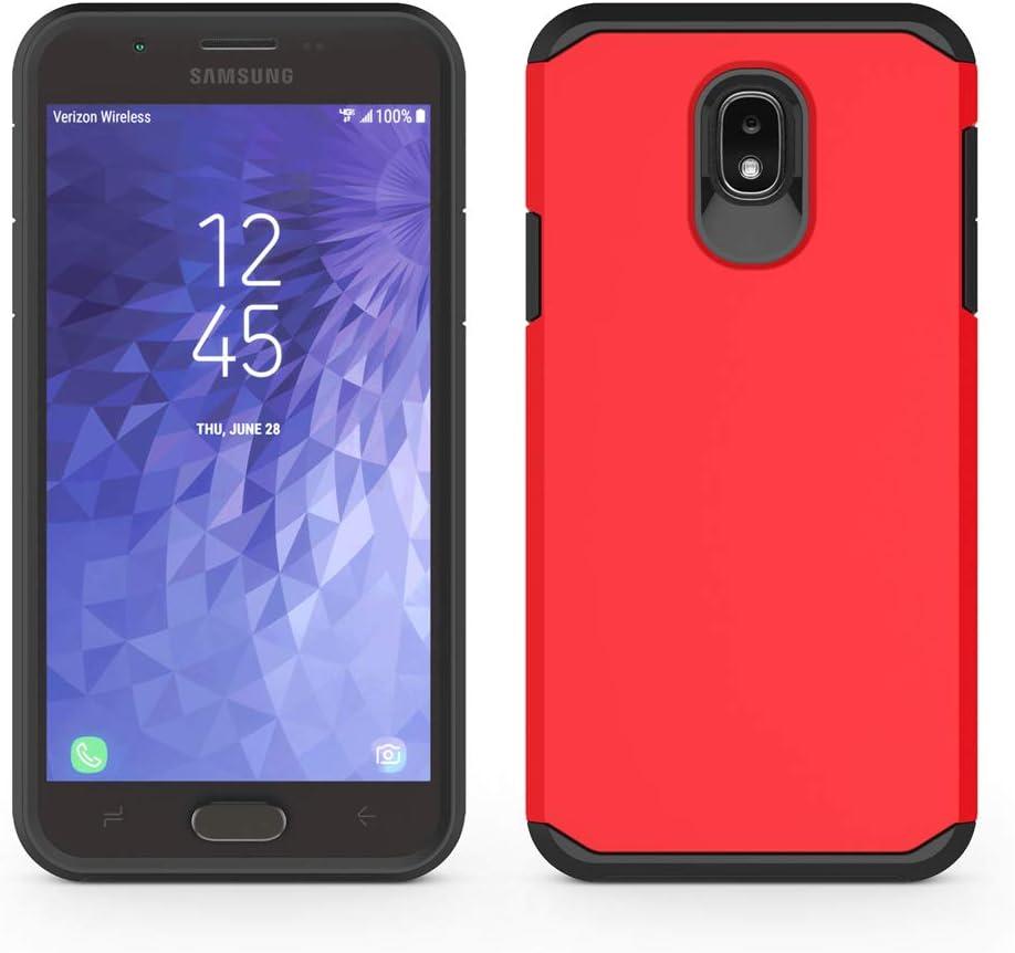 Coque pour Samsung Galaxy J3 2018 / J3 V 2018 / J3 Star / J3 Achieve 2018 / Galaxy Express Prime 3 / Galaxy Amp Prime 3 / Galaxy Sol 3 SYONER [Armor] ...