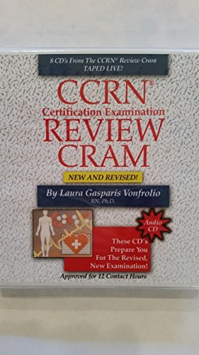 CCRN Certification Examination Review CRAM - Set of 8 Audio CD's