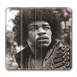 James Marshall Jimi Hendrix Design Leather Case for Iphone 6 Plus Vicissitudes