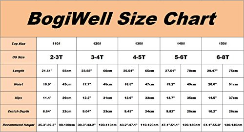 BogiWell Kid Girl Winter Cute Warm Thick Fleece Legging Pant Type 8(US 6-8T, Tag 150) by BogiWell (Image #4)