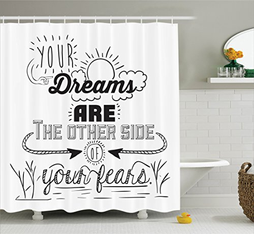 Inspirational Ambesonne Reminder Optimistic Challenges product image