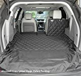 4Knines SUV Cargo Liner for Fold Down Seats - 60/40 Split and Armrest Pass-Through Compatible - USA Based Company (Extra Large, Black)