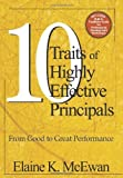 img - for Ten Traits of Highly Effective Principals: From Good to Great Performance by McEwan-Adkins, Elaine K. unknown Edition [Paperback(2003)] book / textbook / text book