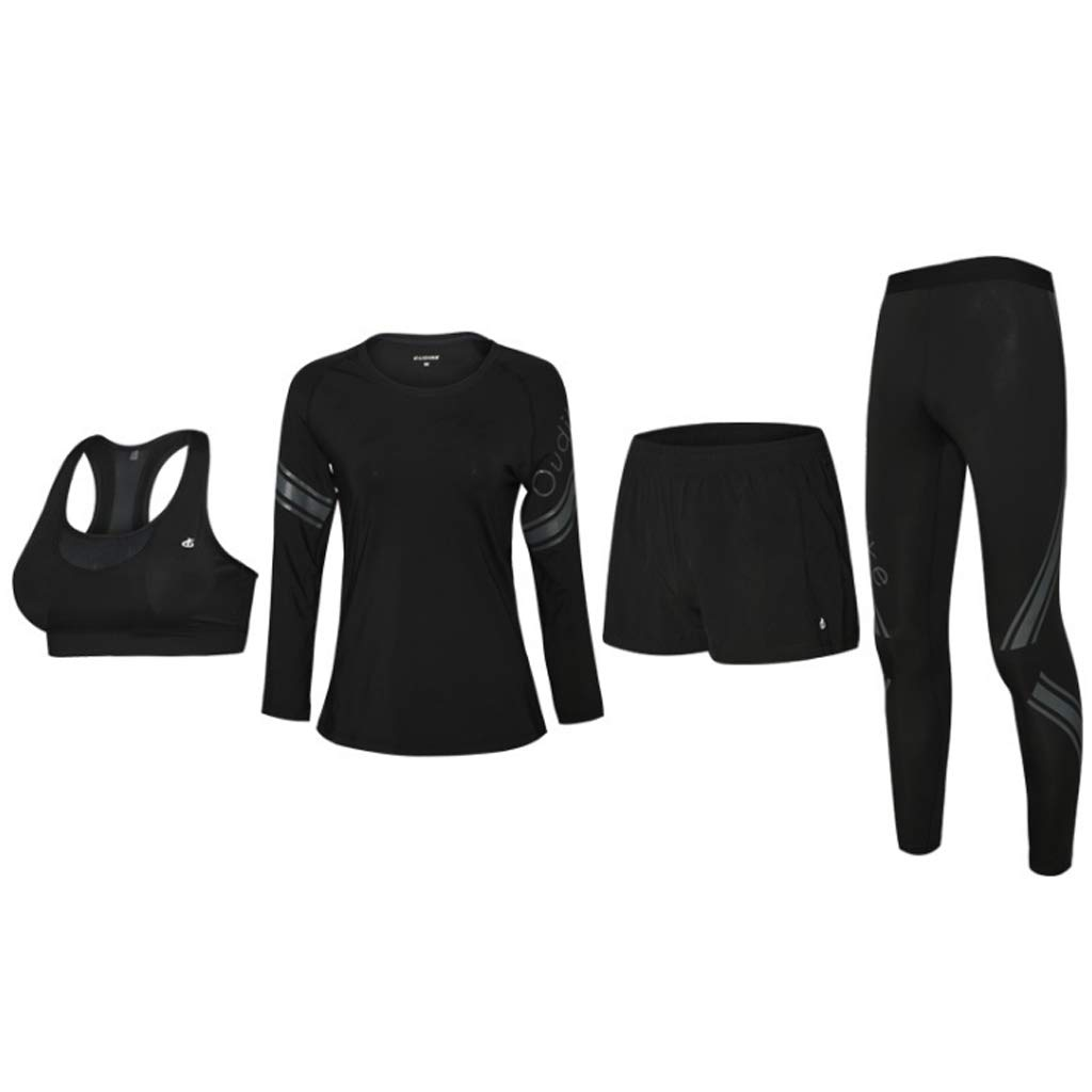 2 Women's Yoga Wear Stretch Fitness Set Sportswear Tights Tights Running Sports Fitness Wear Yoga Wear