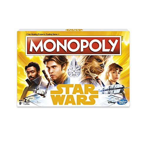 (Hasbro HASE1702102 Monopoly Star Wars Han Solo Game, Multi-Colour, One Size)