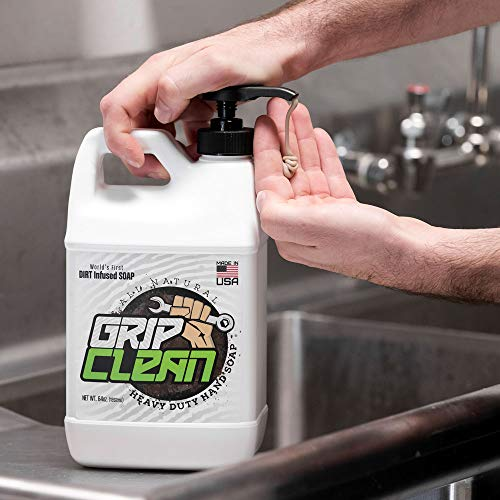 Grip Clean | DirtInfusedHeavy Duty Hand Cleaner - All Natural (1/2gal) x2 by Grip Clean (Image #2)