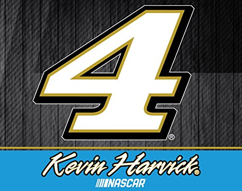 R and R Imports Kevin Harvick #4 Nascar 5x6 Inch Decal Single ()
