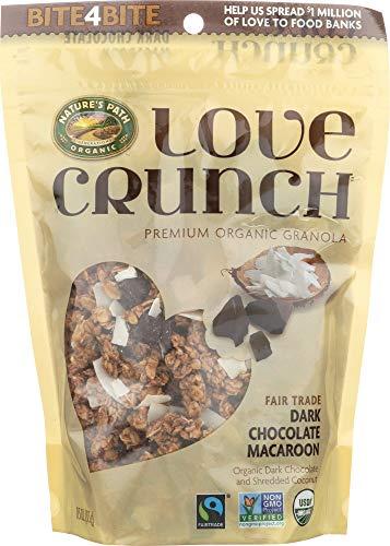 runch Premium Organic Granola Dark Chocolate Macaroon, 11.5 Oz (1 Item) ()