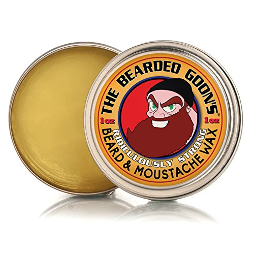Le Barbu de Goon ridiculement forte barbe et moustache Wax - 1oz (30ml)