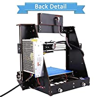 GUCOCO Update Desktop A8 3D Printer, DIY 3D Printer Kits High Accuracy Self-Assembly DIY Personal Portability 3D-Printers 220 220 240mm Print Size by Printrbot Inc