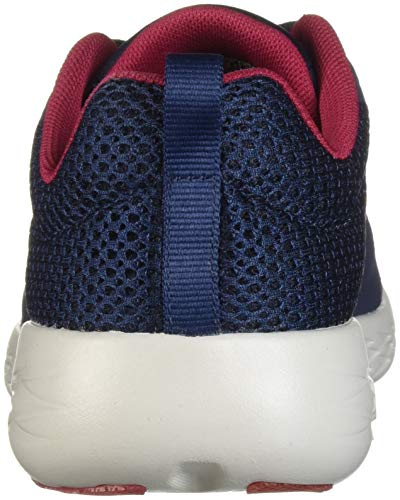 Skechers 600 Mesh Navy pink Lace Go Womens Up Sports Run Trainers trzpvtqx