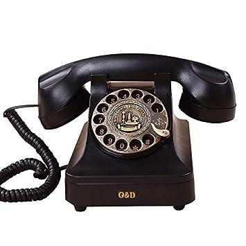 motesuvar antiguo teléfono antiguo, estilo europeo retro ...