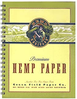 "product image for Hemp Heritage Sketch Book, 8.5"" x 11"""