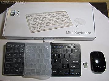 Negro Teclado inalámbrico y ratón para Samsung ue55hu7100 LED Smart TV: Amazon.es: Electrónica