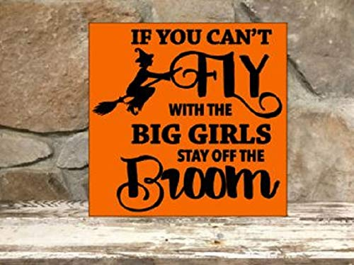 If you can't fly with the big girls stay off the broom - 12
