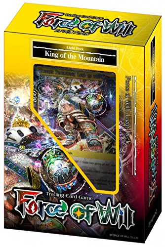 Force of Will - Light King of The Mountain Starter Deck - New Legend Precipice - 51 cards - Starter Deck Light