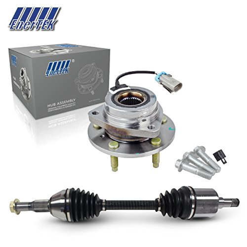 CV Axle Drive Shaft & Wheel Bearing Hub Assembly for Buick Century 2000-2005, Buick Regal 1997-2004, Chevy Impala 2004-2011, Buick Lacrosse 2005-2009, Chevy Monte Carlo 2000-2003 (Right Front) (Half Shaft Removal Tools)