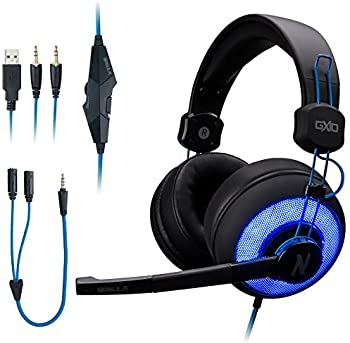 Rosewill NEBULA GX10 Over-Ear 3.5mm Wired Gaming Headphones