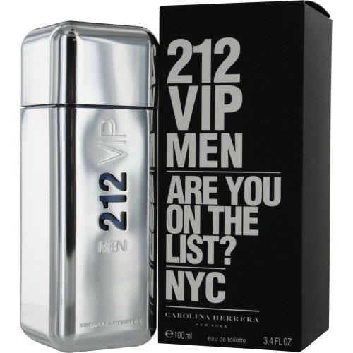 Carolina Herrera Beauty Gift 212 Vip Cologne 3.4 oz Eau De Toilette Spray for Men