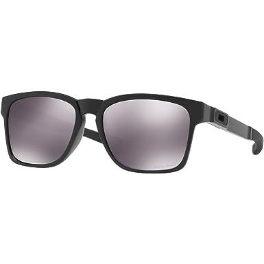 814b7bf1d تي شيرت رجالي Catalyst غير مستقطبة Iridium النظارات الشمسية المستطيلة ،  باللون الأسود ، مصقول 55.01 ملم