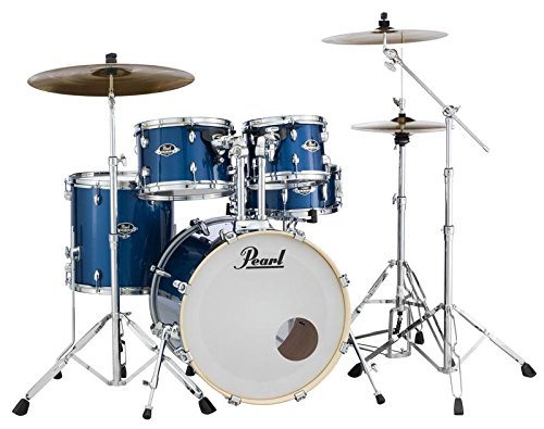Pearl EXX705N/C708 Export 5 Pieces Drum Set with 830-Series Hardware Pack, Grindstone Sparkle