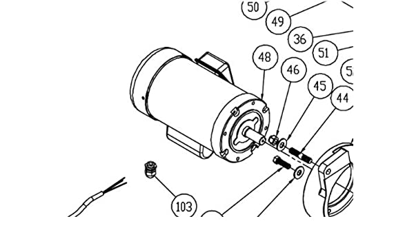 Powermatic Pm2000 Table Saw Replacement Motor Pn Pm2000 248