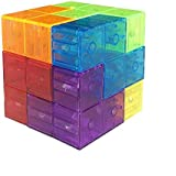 Ucreative Magnetic Building Blocks for Kids Educational Party Toys Stress Relief Games Square Magnets Cube Develops Intelligence