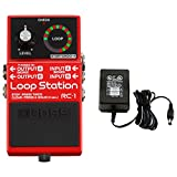 Boss RC-1 Loop Station Stomp Box Effect Pedal w/ Power Supply